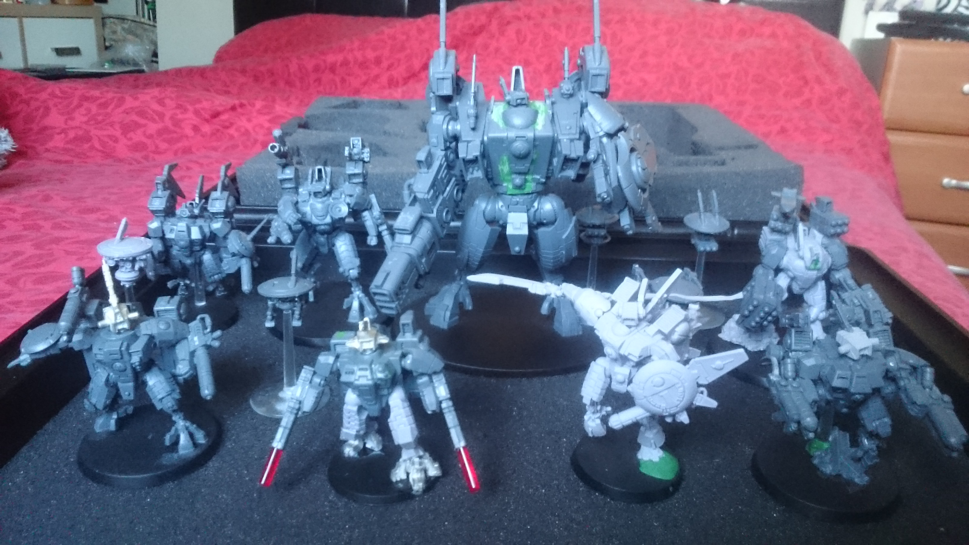 Tau Farsight Enclaves: The Eight
