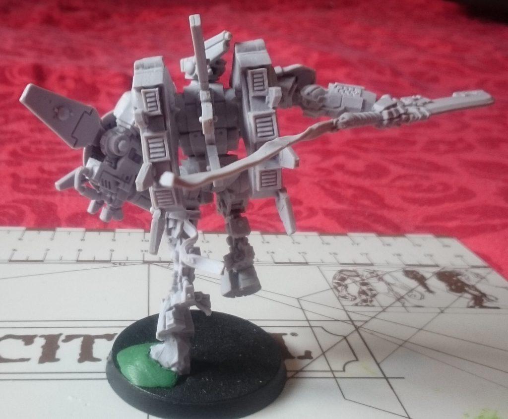 Commander Farsight, Rear