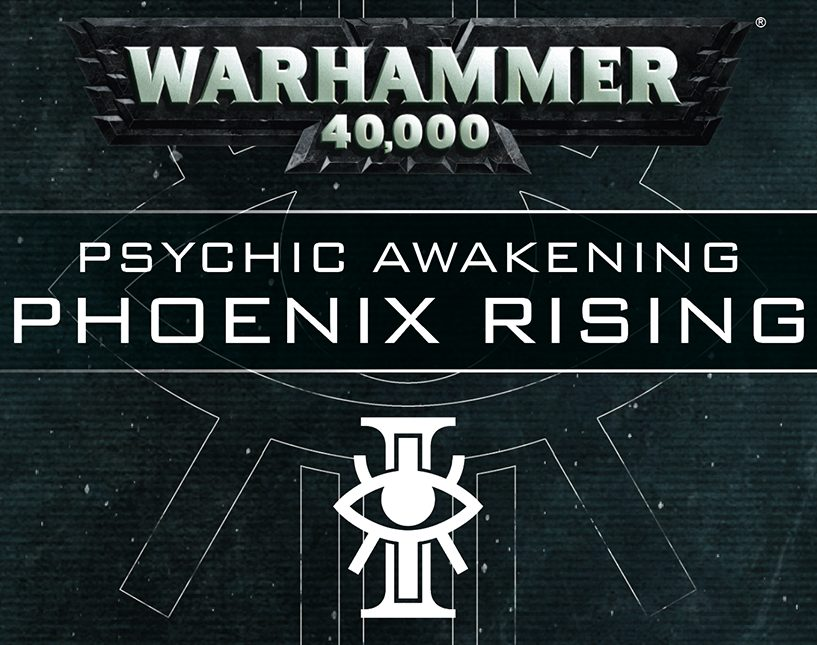 Datamining Warhammer 40k Psychic Awakening